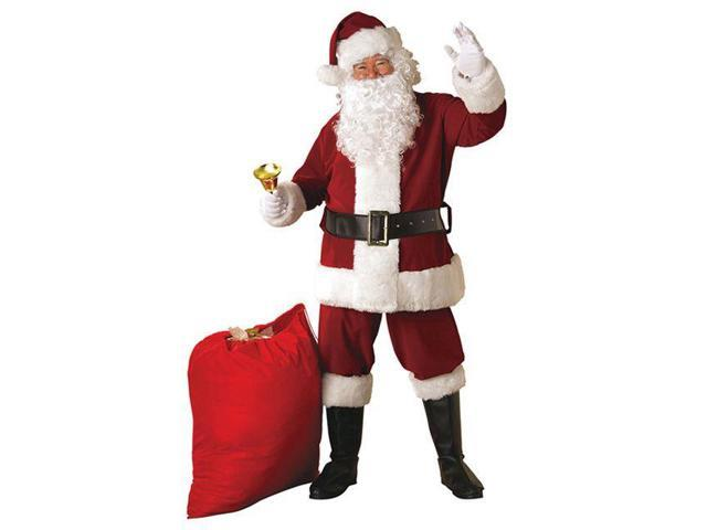 Adult Deluxe Plus Santa Suit (XL) Rubies 23371