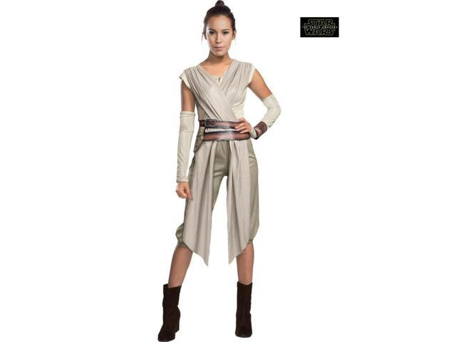 Adult Star Wars The Force Awakens Deluxe Rey Costume
