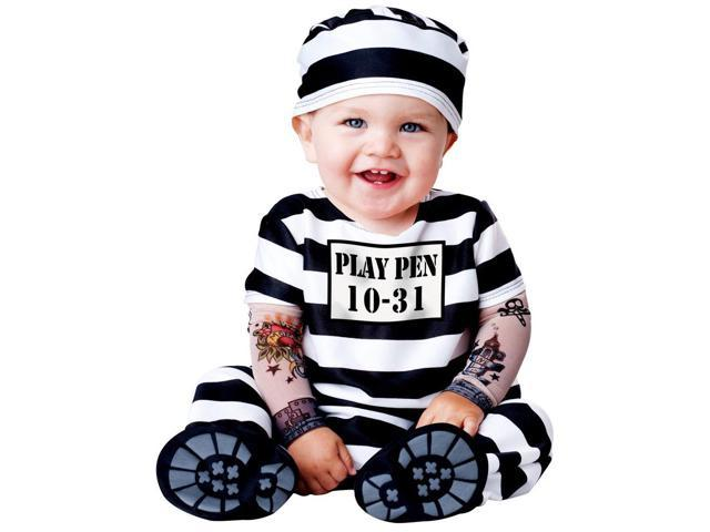 Time Out Prisoner Costume for Toddlers