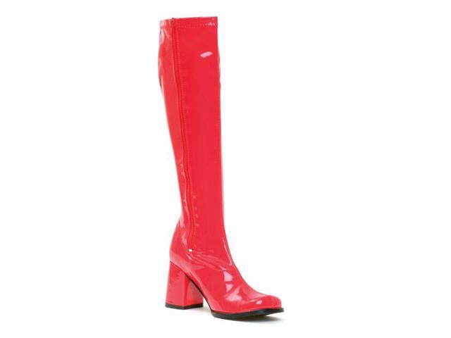 Patent Leather Red Go Go Boots