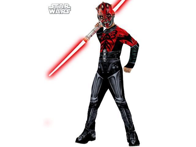 Star Wars Clone Wars Darth Maul Child Costume Rubies 881353