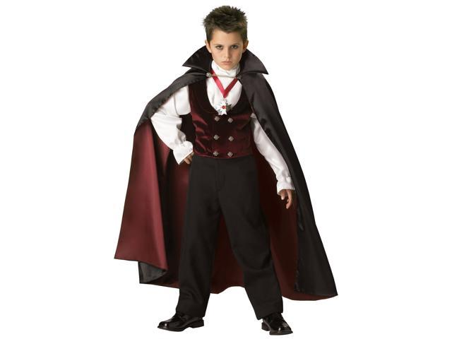 Gothic Vampire Elite Boy's Costume
