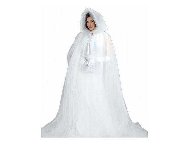 Deluxe Ghost Womens Cape