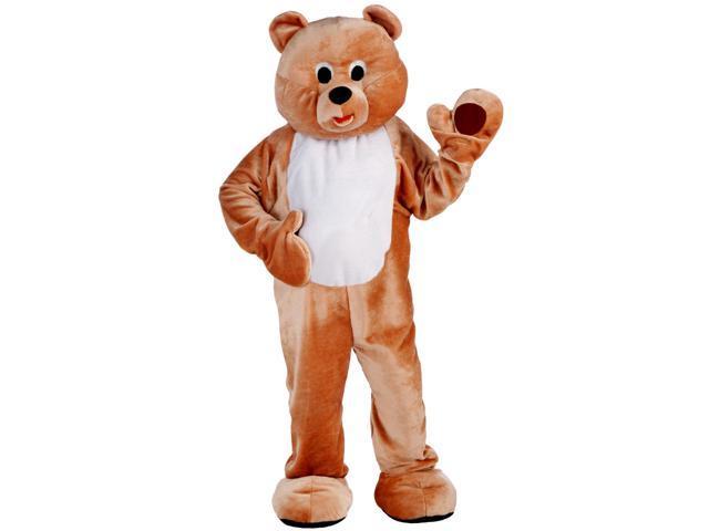 Mens Deluxe Honey Bear Mascot Costume