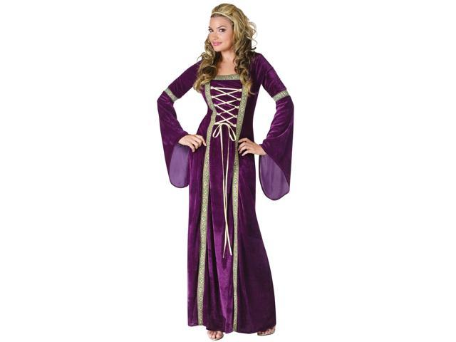 Purple Renaissance Lady Costume for Women