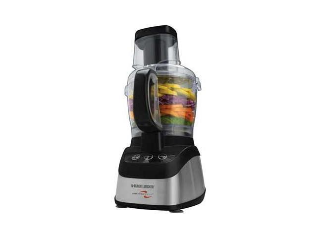 B&D 600W Food Processor Black