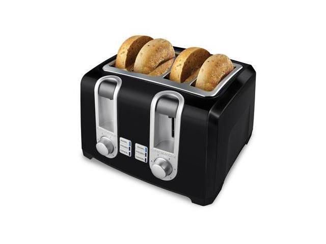 B&D 4 Slice Toaster Black