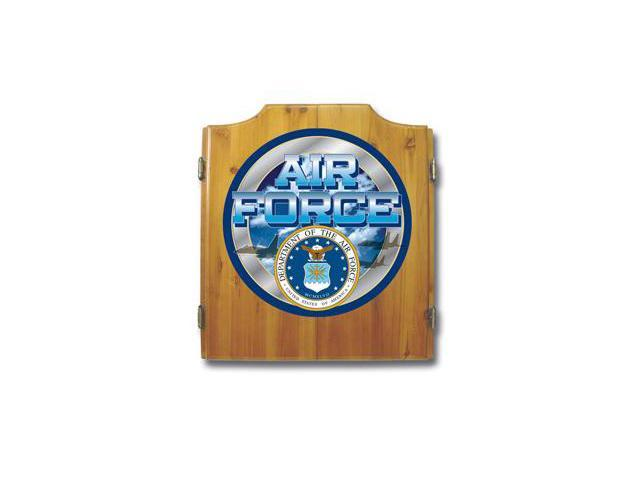 US Air Force Dart Cabinet includes Darts and Board