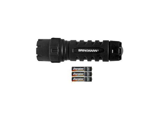 BRINKMANN 809-1085-1 140-Lumen Armor Max LED Waterproof Polymer 3-AAA Flashlight
