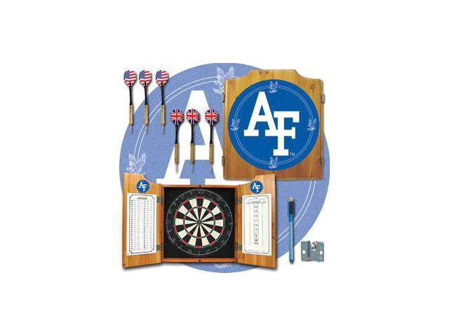 Air Force Dart Cabinet - !ncludes Darts and Board
