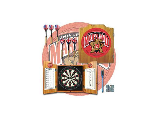 Maryland University Dart Cabinet - !ncludes Darts and Board