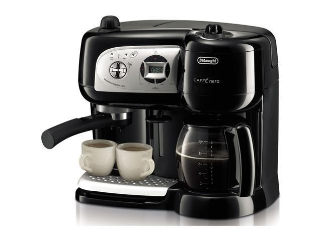 DeLonghi BCO264B Cafe Nero Combination Coffee and Espresso Machine