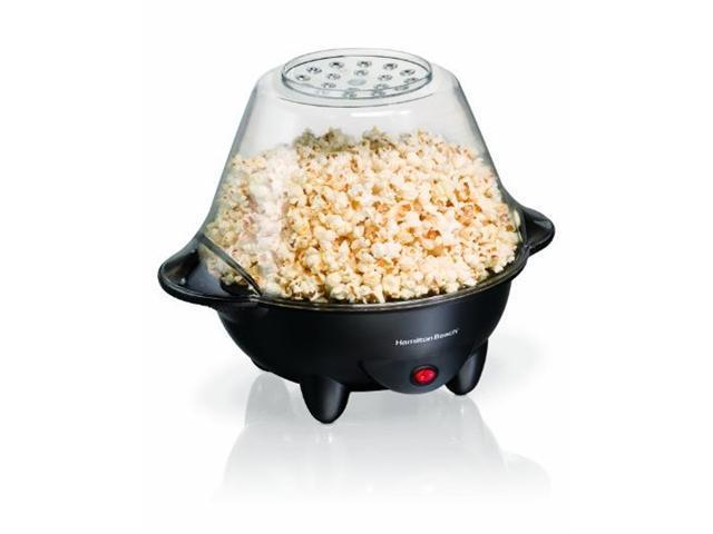Hamilton Beach 73300 Black Hot Oil Popcorn Popper