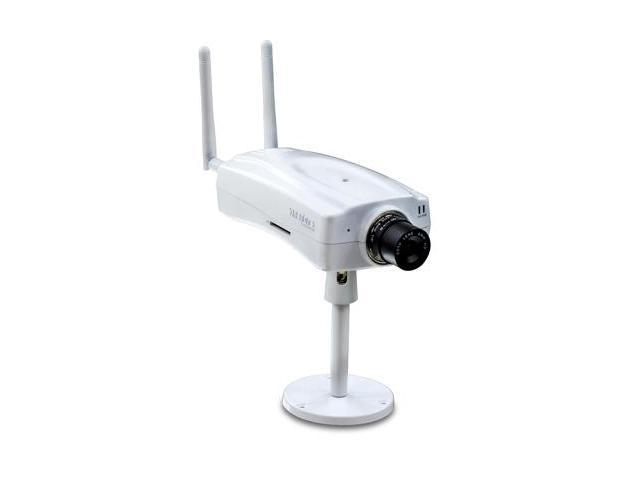 TRENDnet TV-IP512WN Built-in Microphone & Speaker, Removable 6mm, F1.8, CS Mount Lens , Micro SD Card Slot, Wireless IP Camera