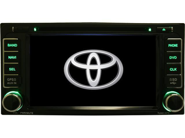 Toyota FJ Cruiser 07-11 In Dash Double Din Touch Screen GPS Navigation DVD iPod Radio K-series 07 08 09 10 11