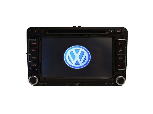 Volkswagen Tiguan 2007-2013 K-Series In-Dash Double-Din GPS Navigation AM/FM Radio CD DVD iPod AUX USB SD