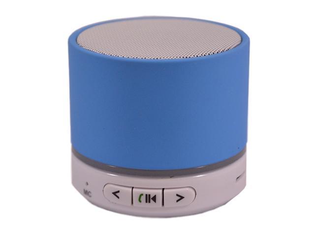Mini Bluetooth Wireless Portable HiFi Super Bass Light Blue Speaker For Iphone Samsung