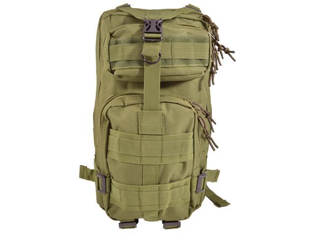 Green Every Day Carry Tactical Assault Backpack