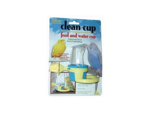 JW Pet Clean Cup Feed And Water Cup, Small - 31308