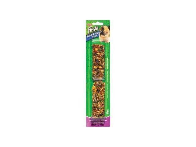 Kaytee Products Fiesta Guinea Pig Stick, Fruit & Vegetable, 4 Ounce - 100502610