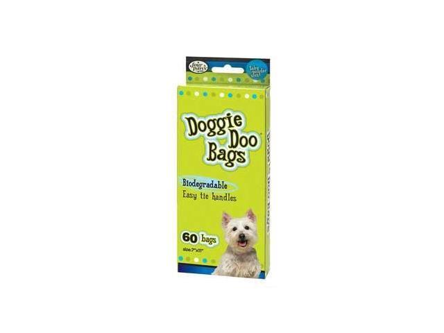 Doggie Doo Bags Biodegradable 60Ct