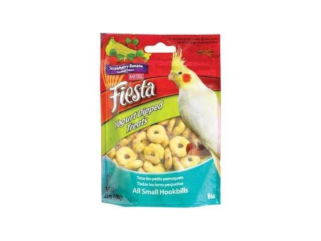 Kaytee Products Fiesta Yogurt Dipped Treats, Strawberry/Banana,3.5Oz - 100502760