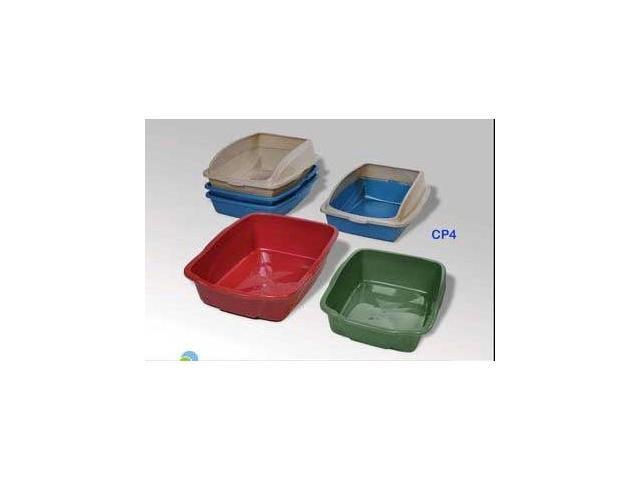 Cp - 4 Cat Pan with Cover Rim - Large