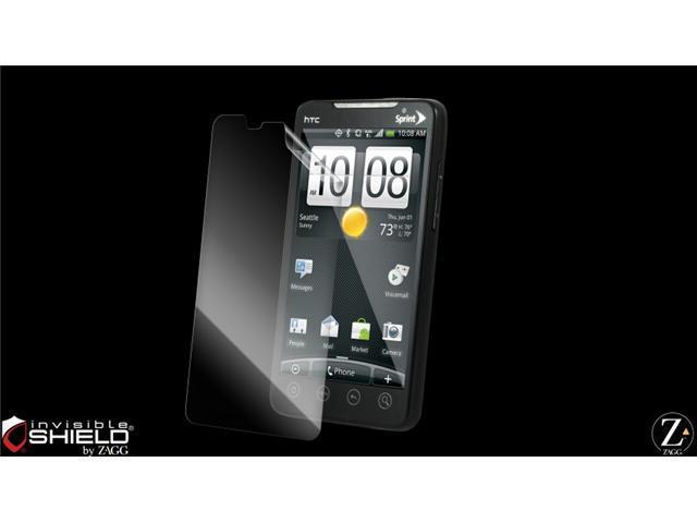 Zagg - invisibleSHIELD Screen Protector for HTC EVO 4G - Screen