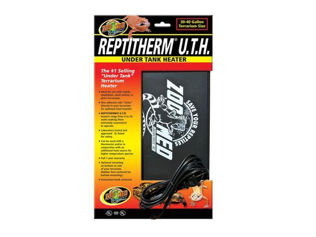 Zoo Med Labs Inc Repti Therm Under Tank Heater 30 40 Gal