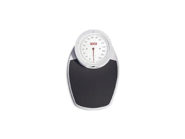 Mechanical floor scale with precision weighing in classic white housing - LBS only