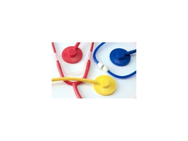 Disposable Stethoscope, Plastic Binaural, Blue, Latex Free