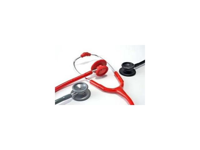 Dual Head Stethoscope, Deluxe-Lite, Adult, Boxed, Magenta, Latex Free
