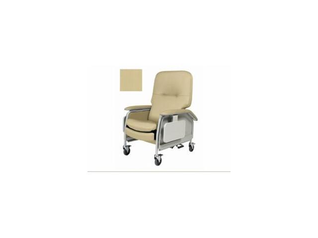 Deluxe Clinical Care Recliner, 1 EA, Silvertex Champagne