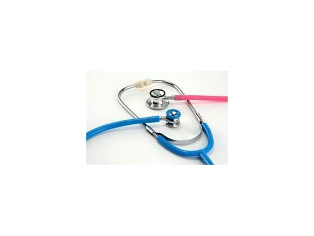 Dual Head Stethoscope, Neonatal, Boxed, Light Blue, Latex Free