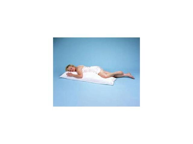 Body Pillow With Blue Polycotton Cover, Color: Blue, Size: 16 x 52 , 2/case, Sold in case