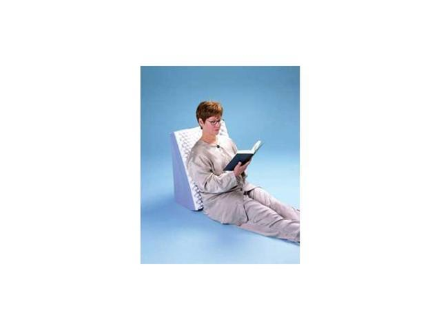 Dual Position Comfort Wedge With White Polycotton Cover, Size: 22 L x 19 W x 12 H