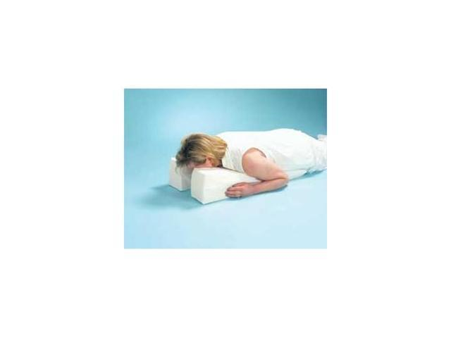 Small Face Down Pillow, Size: 17 x 14 x 6 to 2 1/2 , Sold in one each