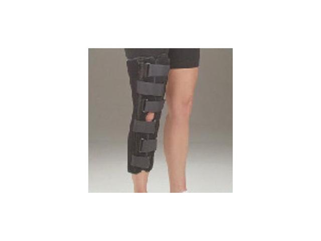 Knee Immobilizer, 10INBlack Foam, Pediatric, M