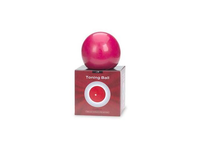 Soft Weighted Toning Ball 2lb - 13cm, Size: 2 lbs; Colour: red