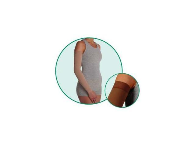 SoftSleeve, model: 2002, Regular, Silicone Border, color: Cinnamon, 30-40mmHg, size IV