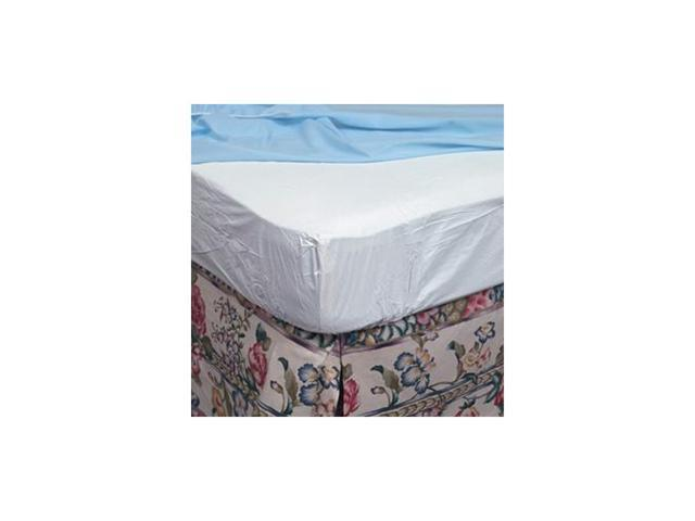 King Contoured Plastic Mattress Protector for Home Beds