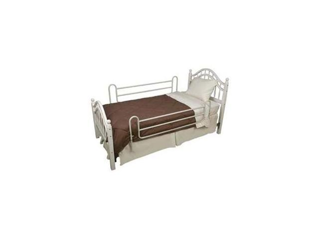 Steel Bed Rails for Twin Bed, 1 Pair