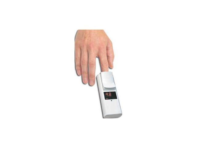 Model 100 Pocket Pulse Oximeter with Integral Finger Sensor