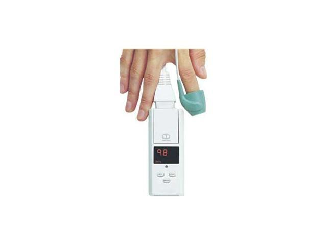 Model 130 Pocket Pulse Oximeter with Memory and Cable Adapter and Integral Finger Sensor