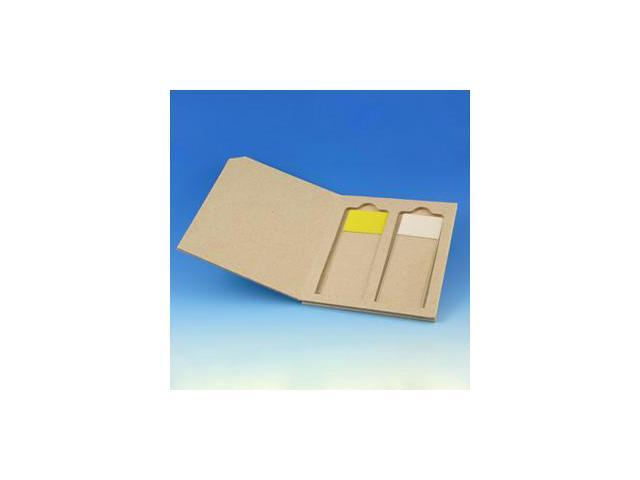 Slide Mailer, Cardboard, for 2 Slides, 50/Box, 2 Boxes/Unit