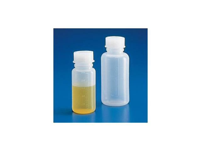 Bottle with Screwcap, Wide Mouth, LDPE, Graduated, 2000mL
