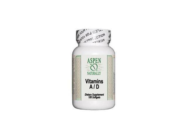 Vitamin A&D, 10,000/400IU, 100 Softgels