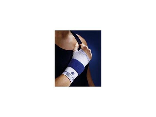 Bauerfeind ManuTrain Wrist Support, Circumference in inches 7 1/2 - 7 3/4, Color Titanium, Left