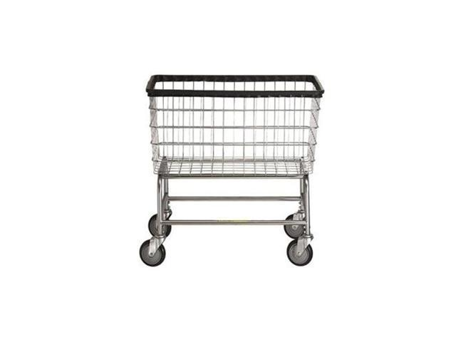 Large Capacity Laundry Cart, basket color: Chrome