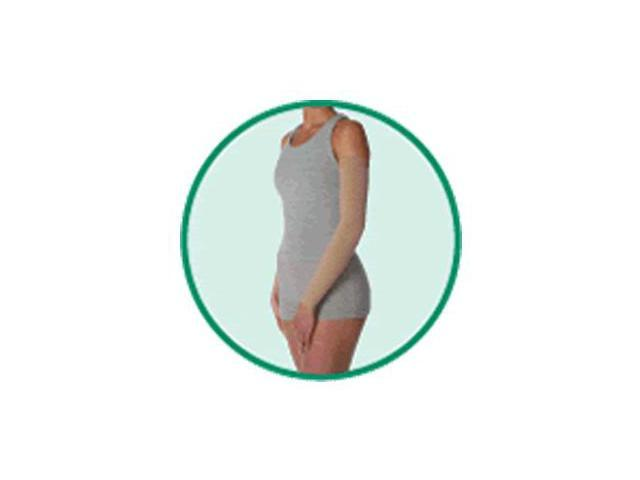 Arm Sleeve Chestnut MX - Regular with Silicone Border, Size 1, Extra Small, Compression 20-30 mmHg, Model 2001MX